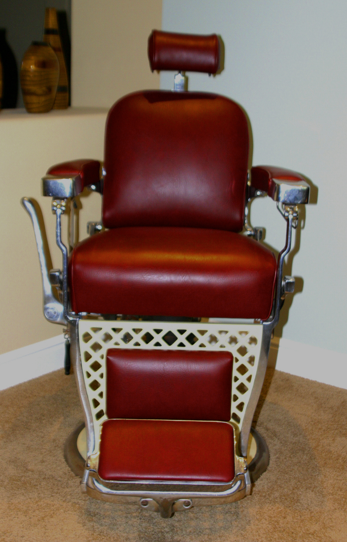 Vintage Barber For Sale : Barber chairs for sale chicago vintage - Vintage Barber For Sale: Antique Koken Barber Chair For Sale Make An